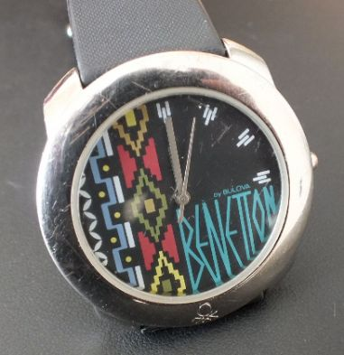 Bulova united colors of benetton fashion watch for Benetton watches